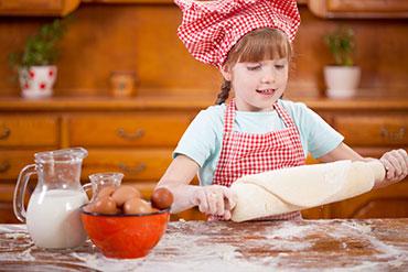 Gyerekekkel a konyhában