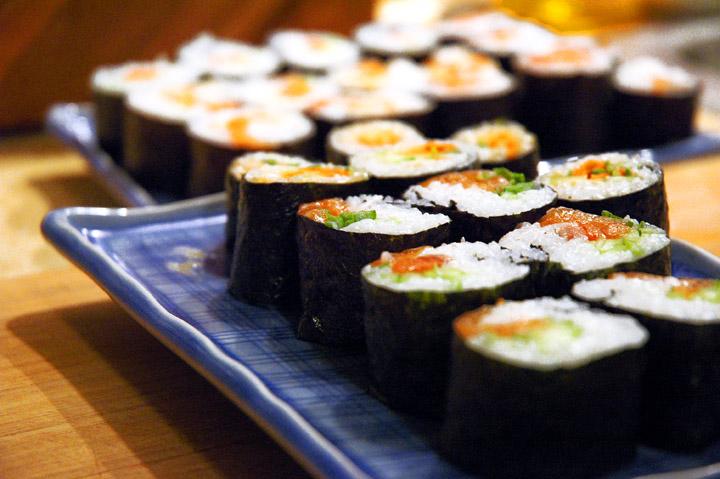Japán konyha, sushi készítés alapjai