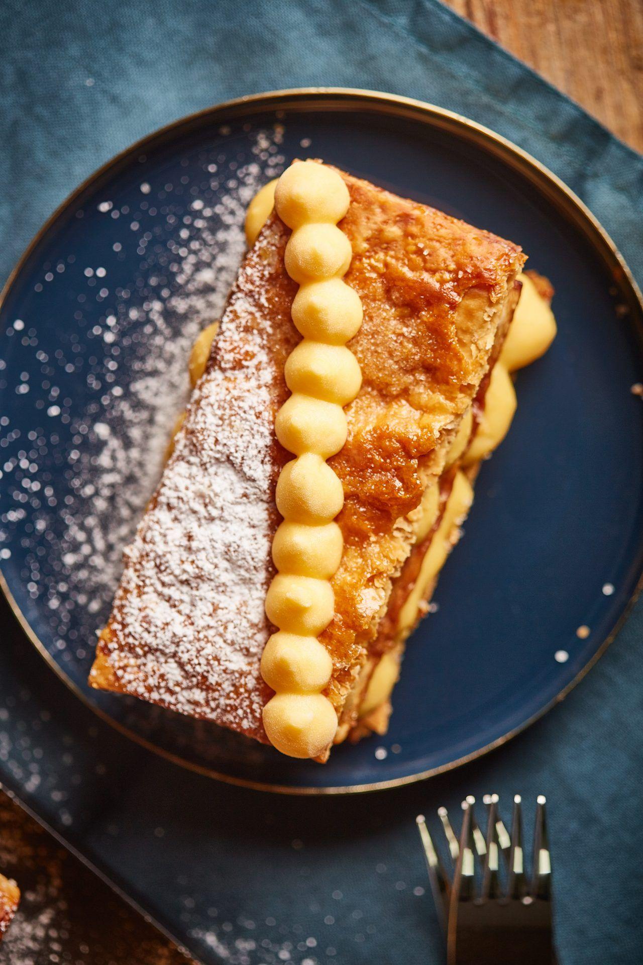 Villantós francia sütemények